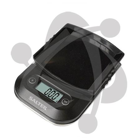 Balanza digital con plataforma de plastica 1250BK de 250g